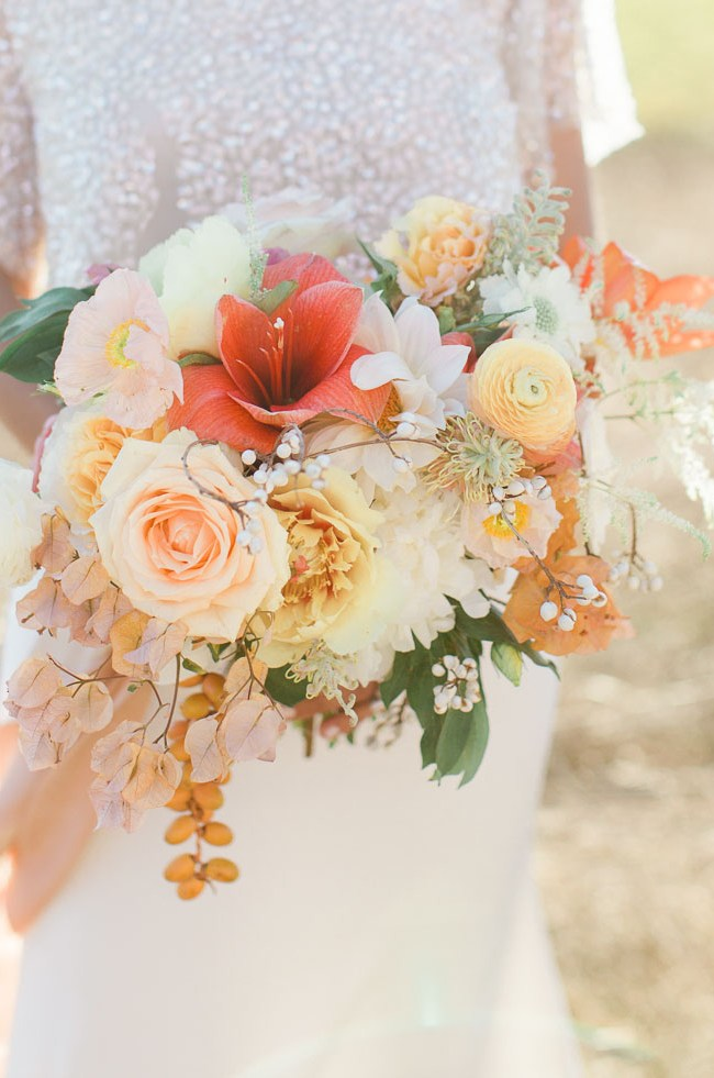 boho ranch bouquet