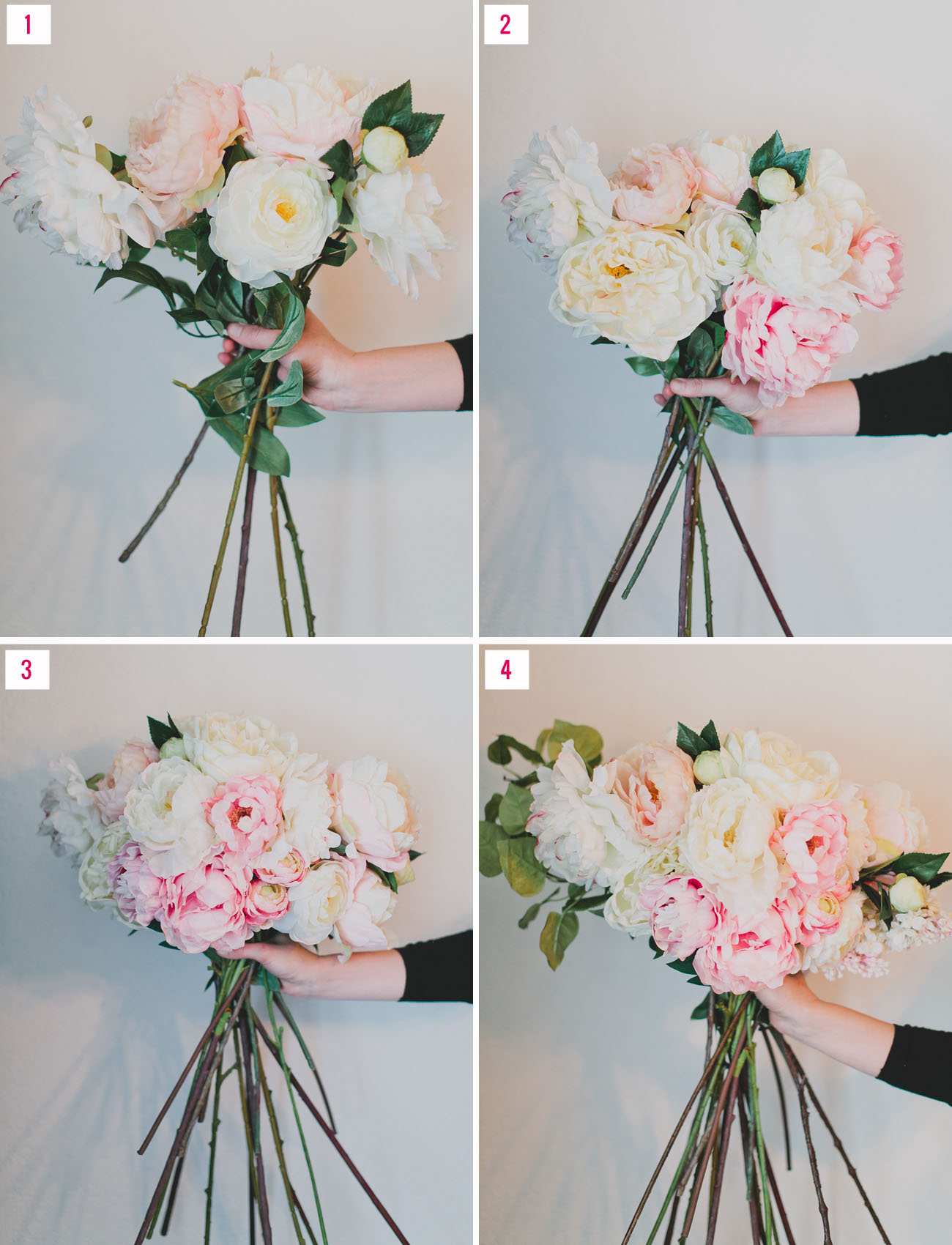 How To Make A Silk Floral Arrangement How To Make Fake Flower Arrangements My Web Value