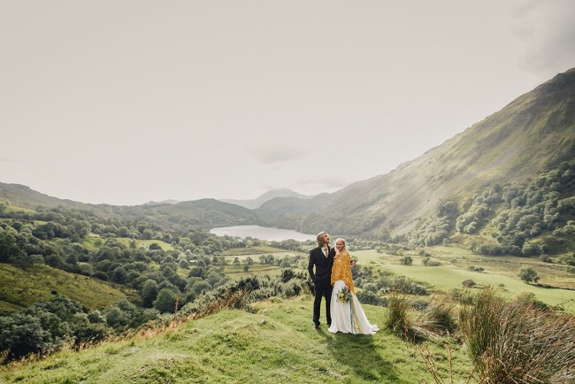 Wales UK Camp Wedding