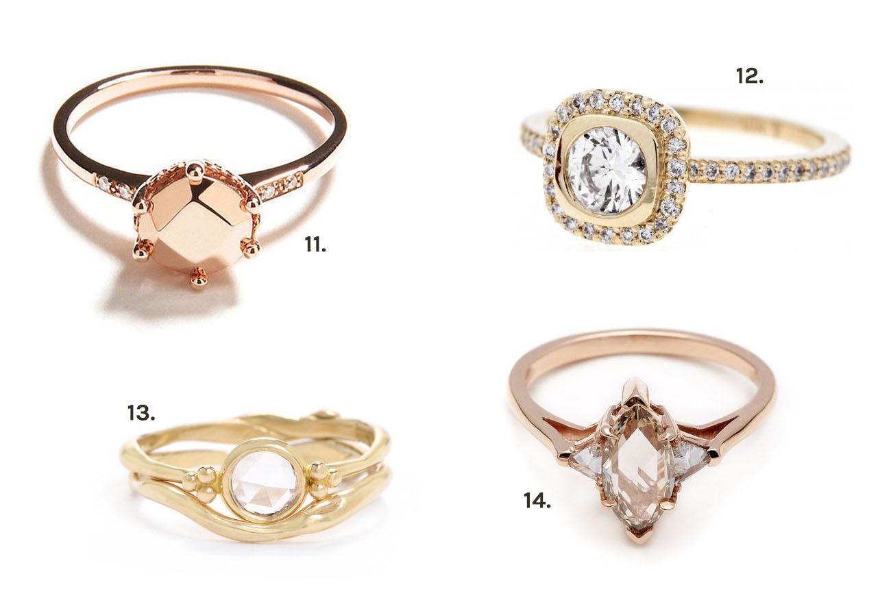 our favorite unique engagement rings unique wedding ring Our Favorite Unique Engagement Rings