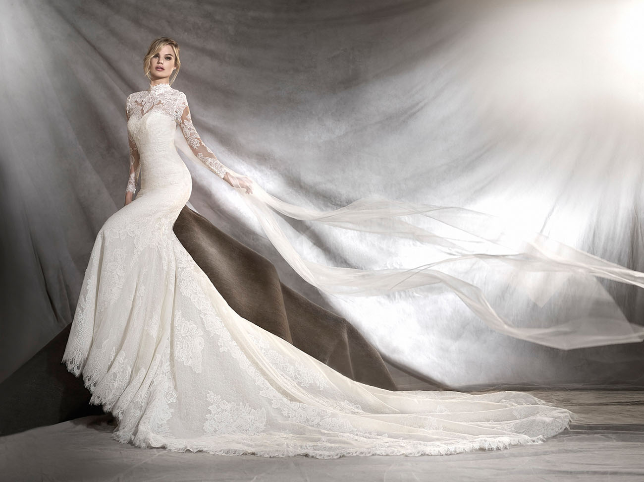 2017 bridal collection from atelier pronovias green