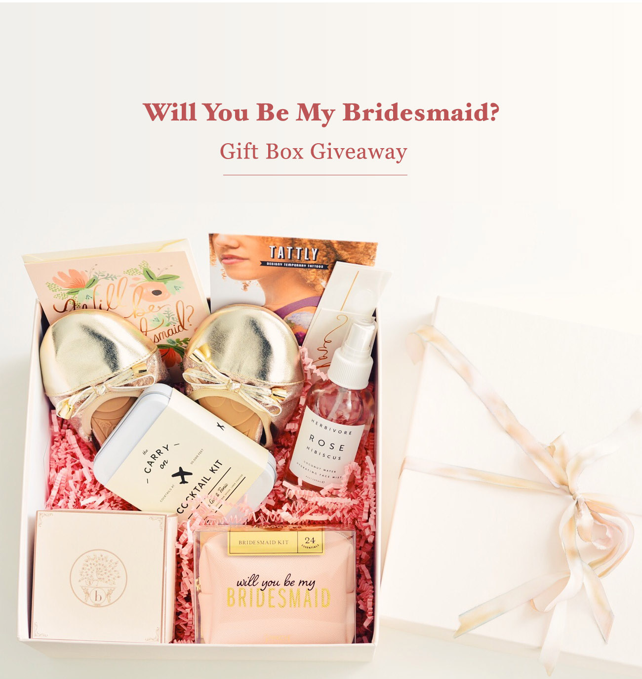 Bridesmaid Gift Box Giveaway From Bijou Candles Green