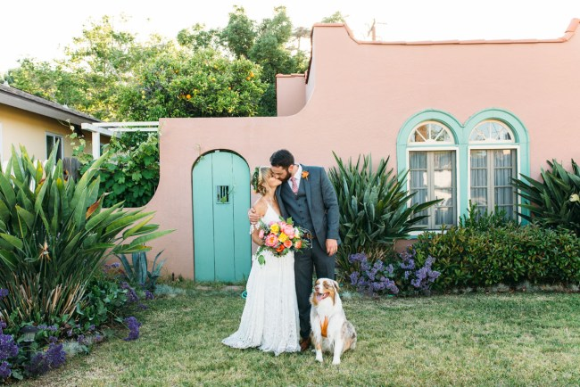 Colorful Old Towne Orange Wedding