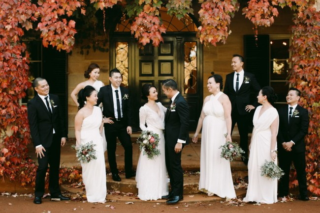 Fall Australia Wedding
