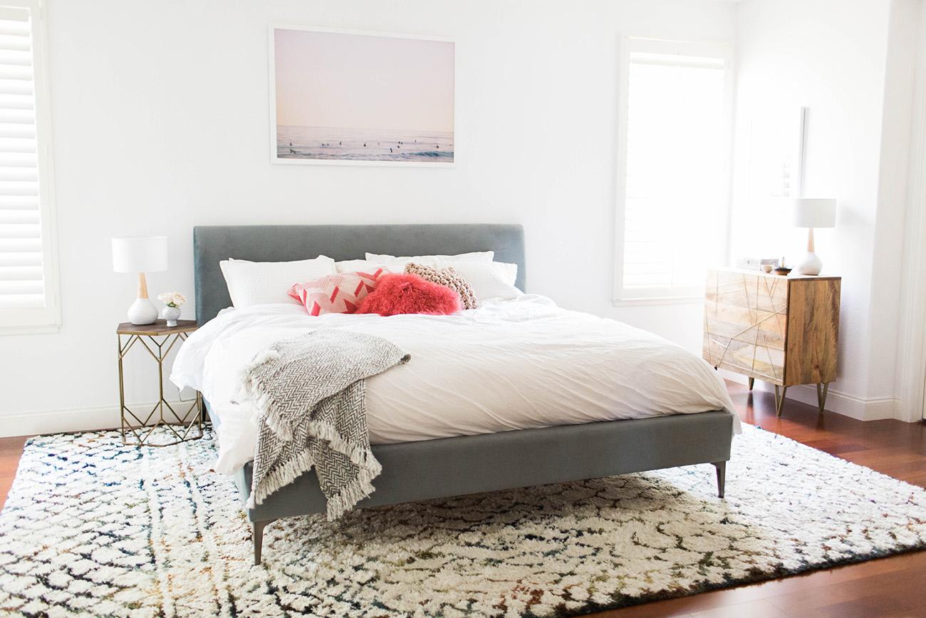 beachy boho bedroom