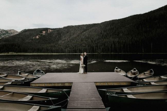 Boho Colorado Wedding