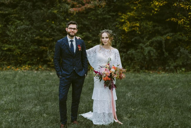 Boho New York Wedding