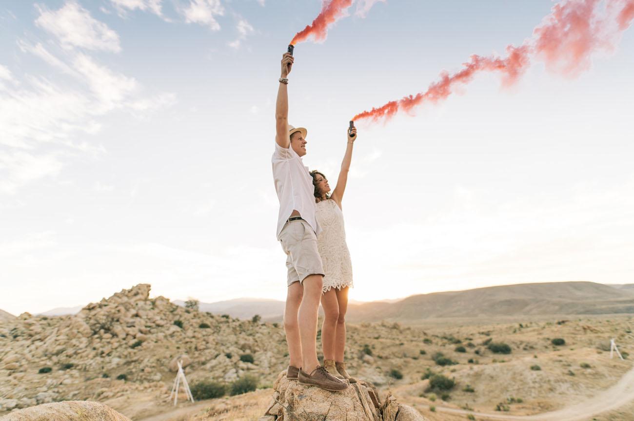 Eclectic, Moroccan, Joshua Tree Glamping Wedding