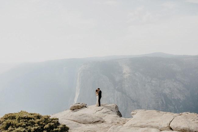Boho Yosemite Wedding