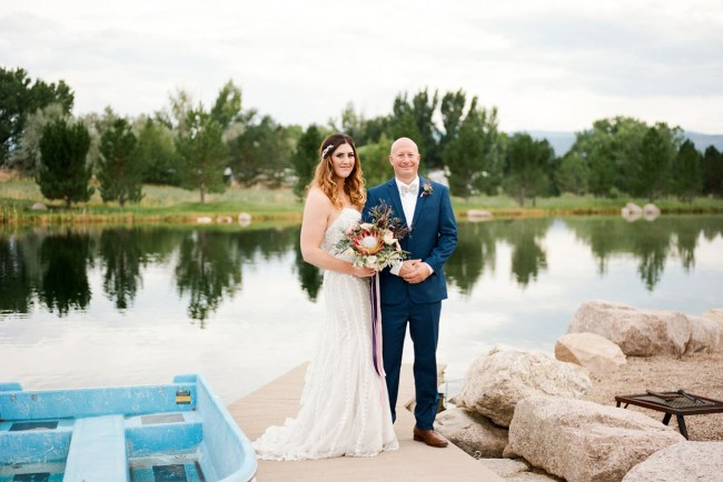 Colorado Lakeside Wedding