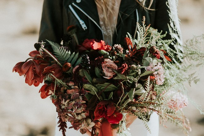 red desert bouquet