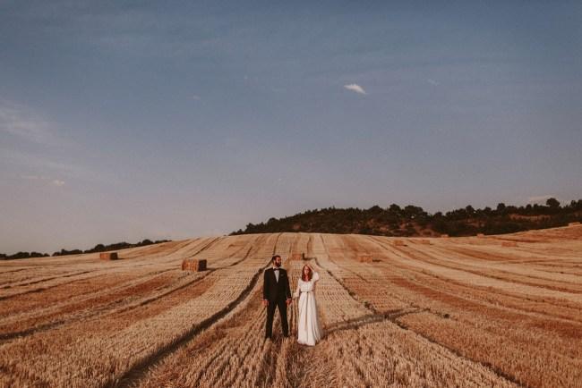 Tuscany Inspired Monastery Wedding