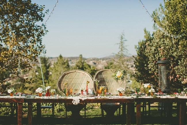 1960s Woodstock Themed Wedding