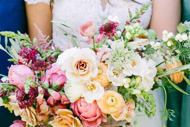 wild rose bouquet