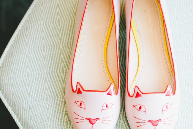 brides cat shoes