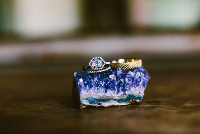 geode ring styling