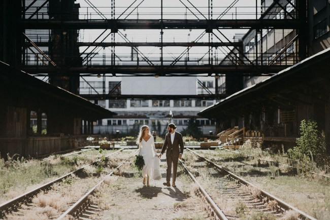 Prague Industrial Wedding