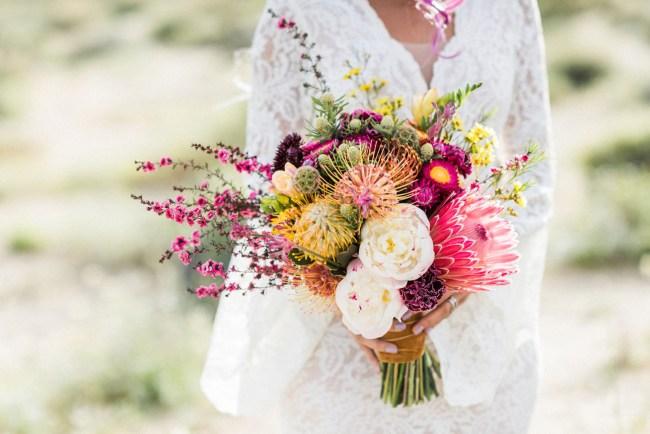 bright desert bouquet