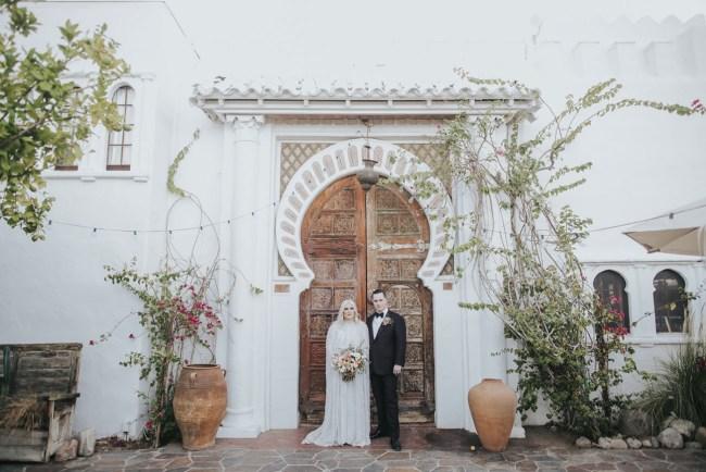 Hipster Palm Springs Wedding