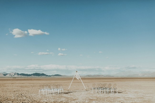 Salt Flats Wedding