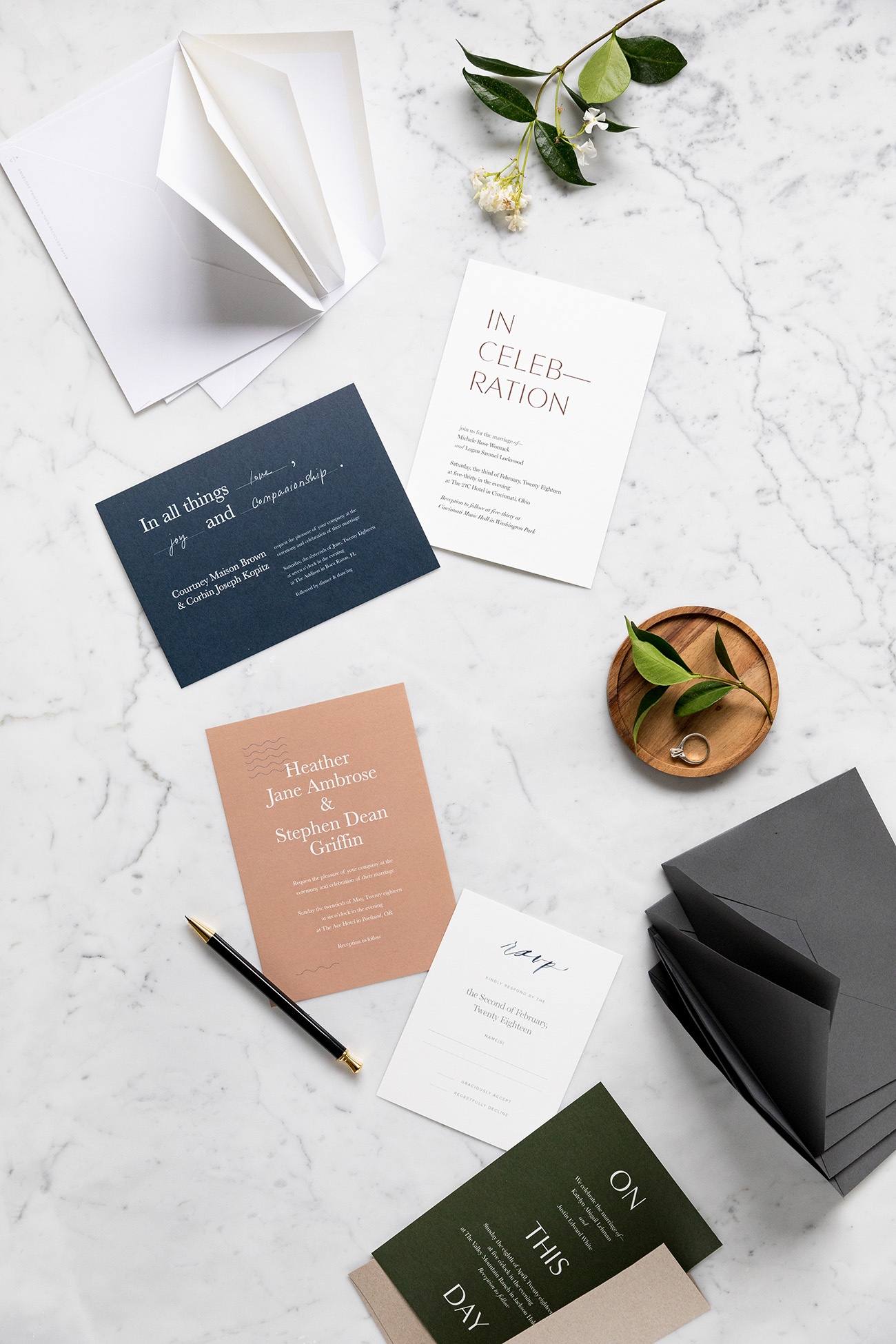 Posh Wedding Invitations From Artifact Uprising Luxe Wedding Invitations From Artifact Uprising Green Wedding Invitations Melbourne Wedding Invitations Addressing Etiquette wedding Modern Wedding Invitations