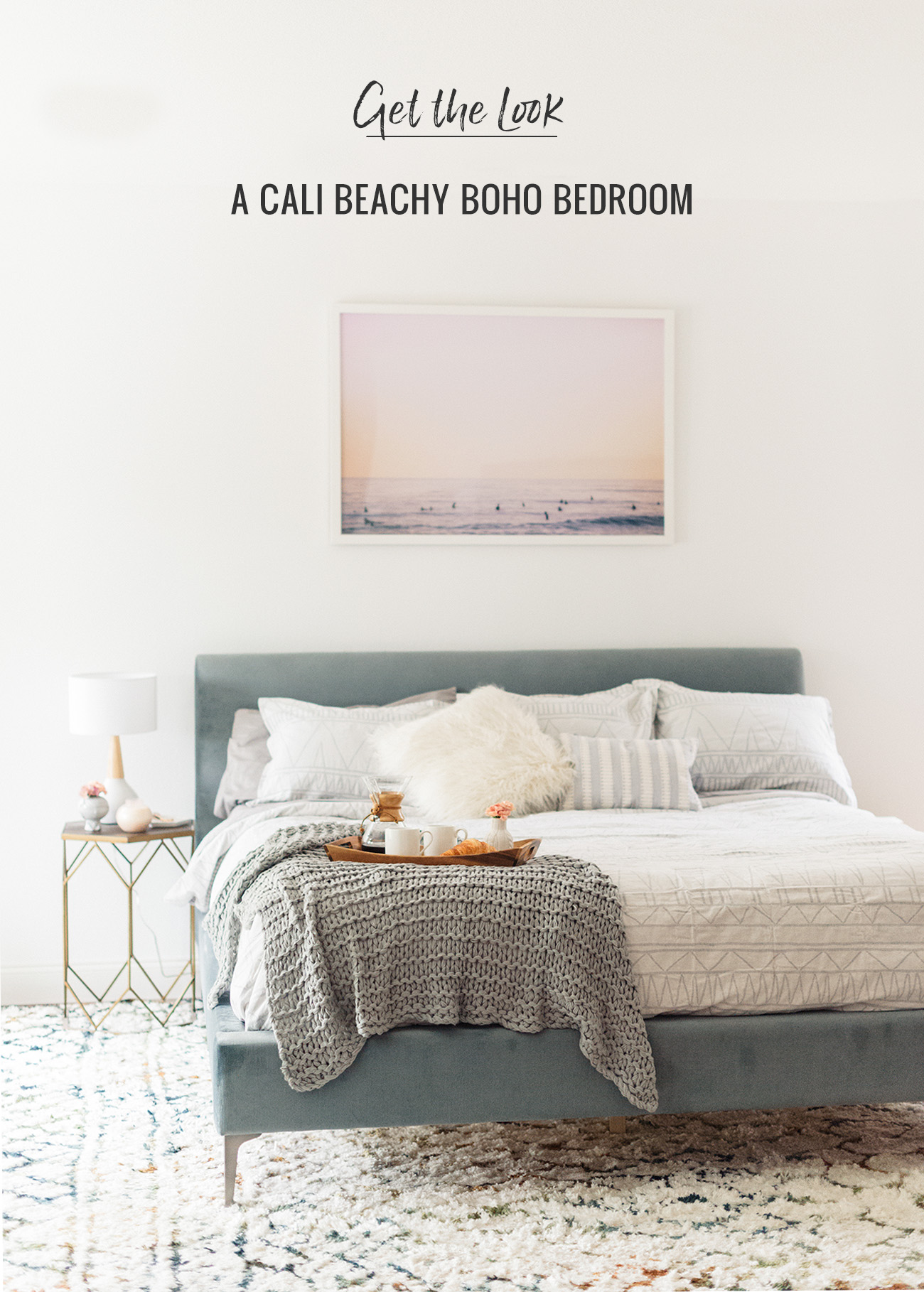 Boho Bedroom Get The Look A Cali Beachy Boho Bedroom Green Wedding Shoes