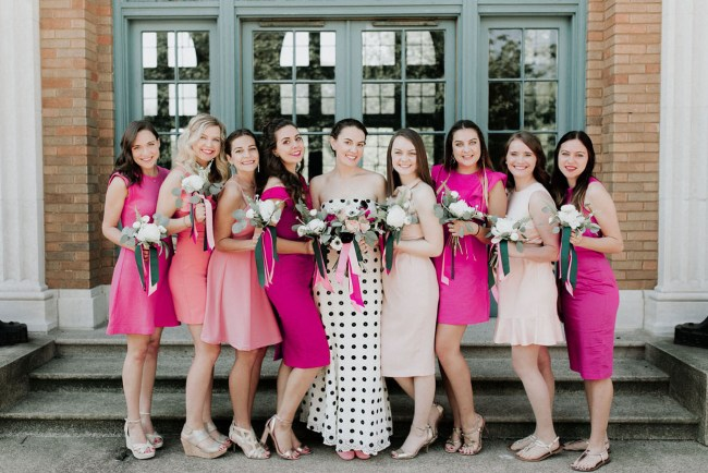 Quirky Kate Spade Wedding