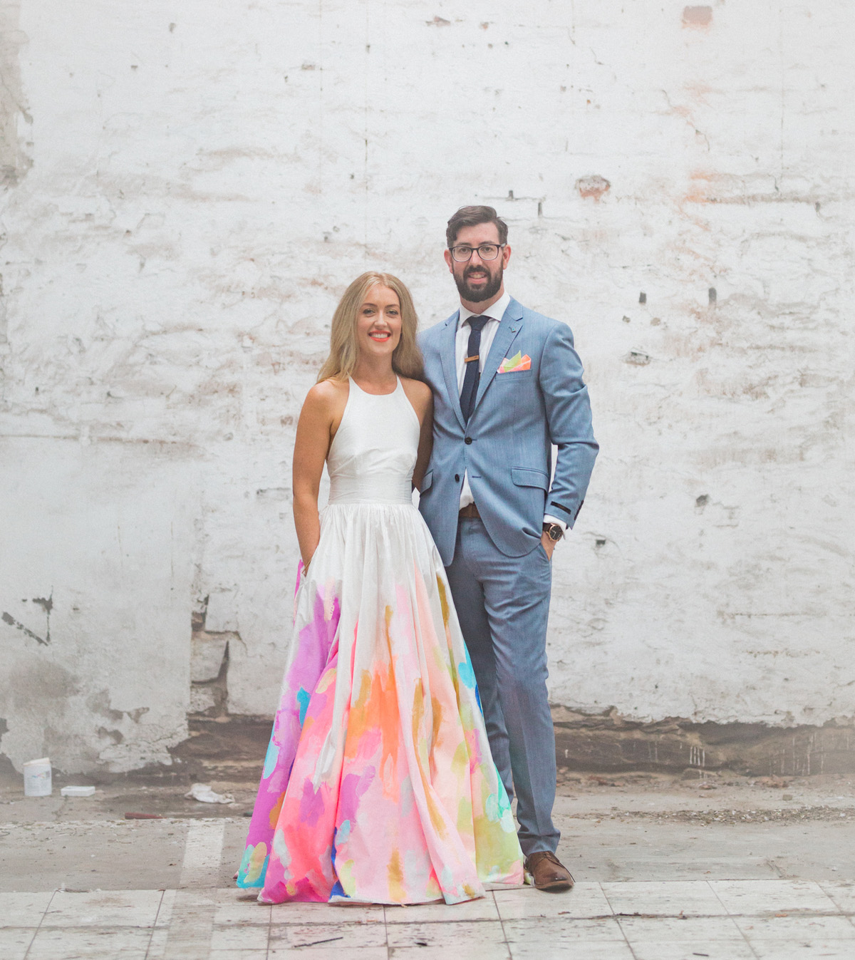 Fullsize Of Rainbow Wedding Dress