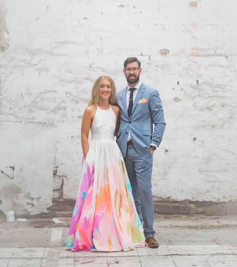 Divine Bride Wore A Rainbow Wedding Dress Bride Wore A Rainbow Wedding Dress Green Wedding Lazaro Rainbow Wedding Dress Rainbow Wedding Dress Diy