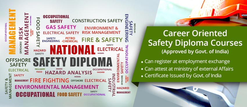 Safety Courses in India Safety Officer Course Safety Diploma