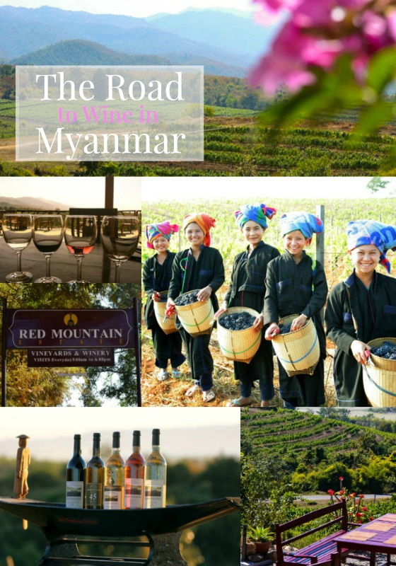 Keeping it local with wine in Myanmar