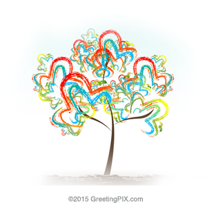 GreetingPIX.com_Word Pictures_Tree of Love
