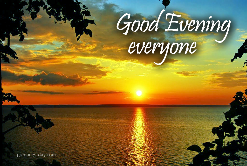 Gud Evening Wallpaper With Quotes Good Evening ⋆ Cards Pictures ᐉ Holidays