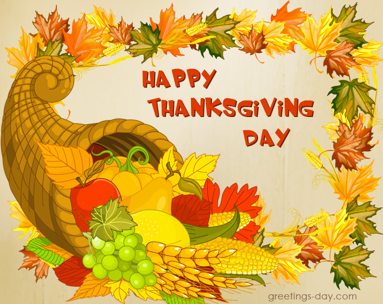 Thanksgiving Day Image Greeting cards, Messages  Pics
