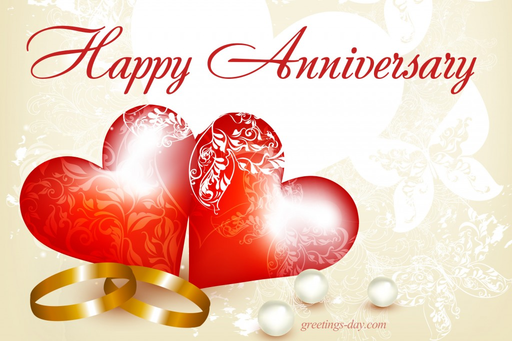 Greeting cards for every day Wedding Anniversary - Free Ecards - free anniversary images