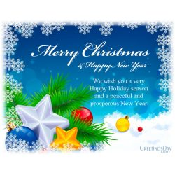 Small Crop Of Christmas And New Year Greetings