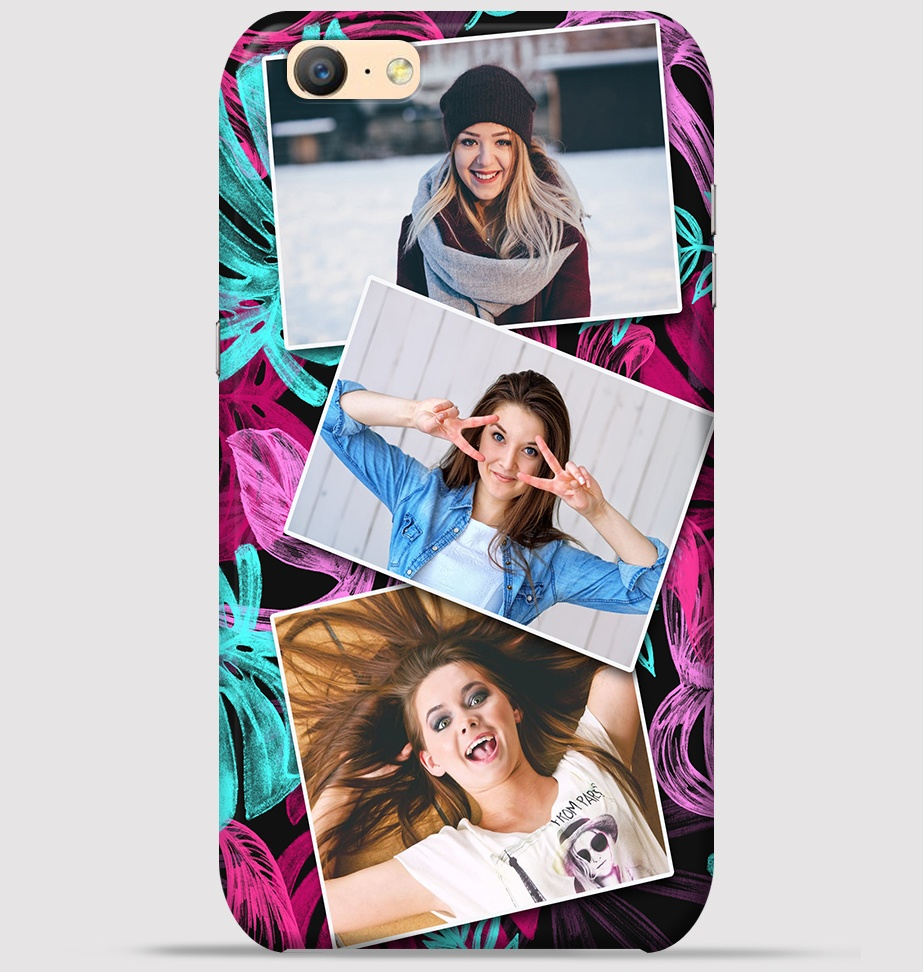 Collage Fotos Oppo A57 Mobile Cover Trio Girlfriends Collage Theme Cover At