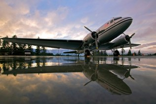 HFF DC-3 Reflections - Credit to James Polivka - 800