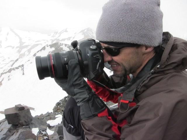 NG photog Stephen Alvarez doing what he does