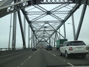 My last crossing of the old span