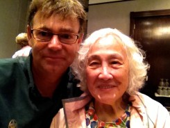 With Margaret Soong