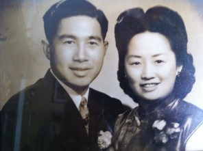 Moon and Elsie Chin, 1930s or early '40s