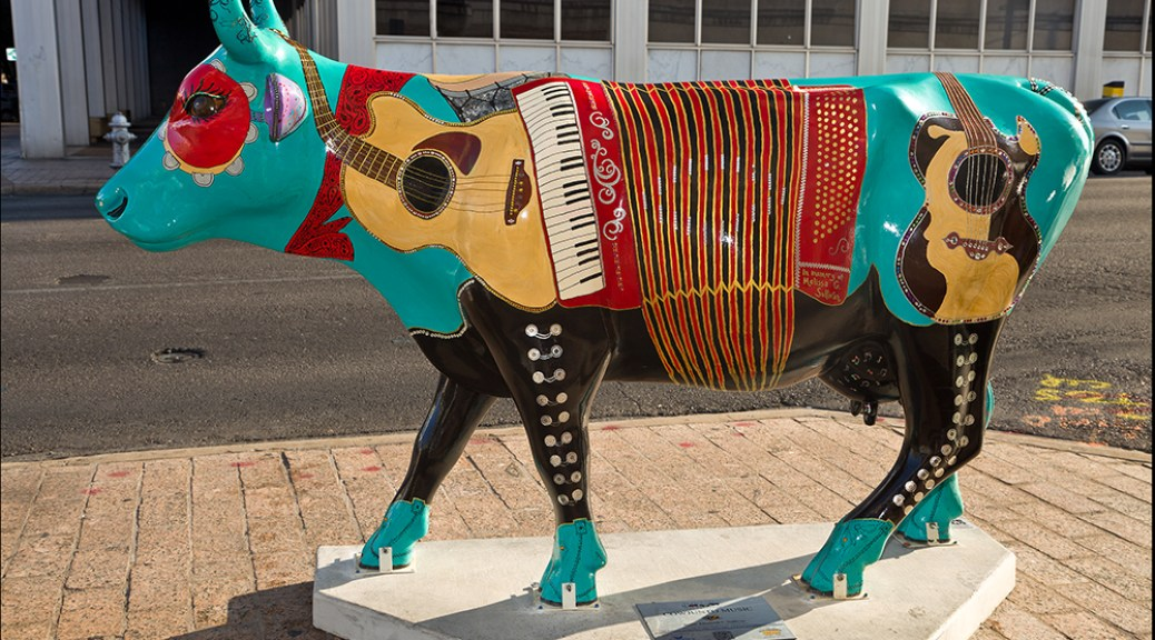 CowParade Austin Calendar - March