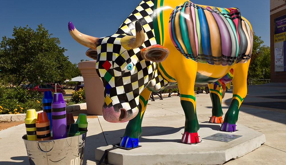 CowParade_Austin_August_Got_Color