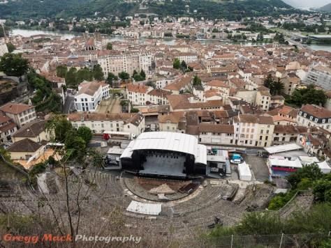 Roman amphitheatre in Vienne.