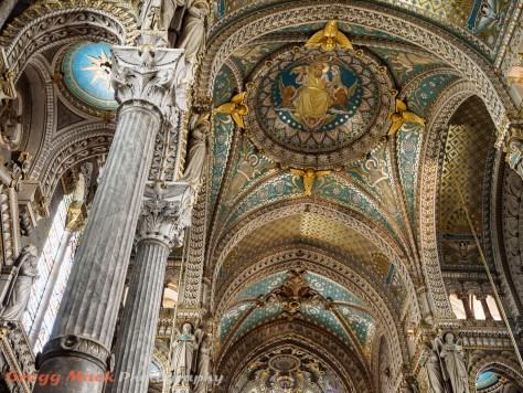 Basilica of Notre-Dame de Fourvière in Lyon