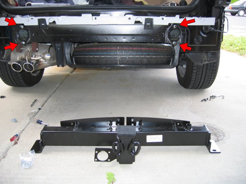 How To Install a BMW Factory Trailer Hitch on a 2006 X3 - Xoutpost