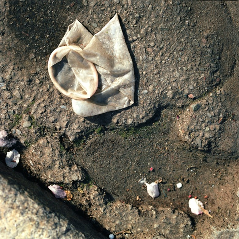 Greg Mettler, photography, bronze condom