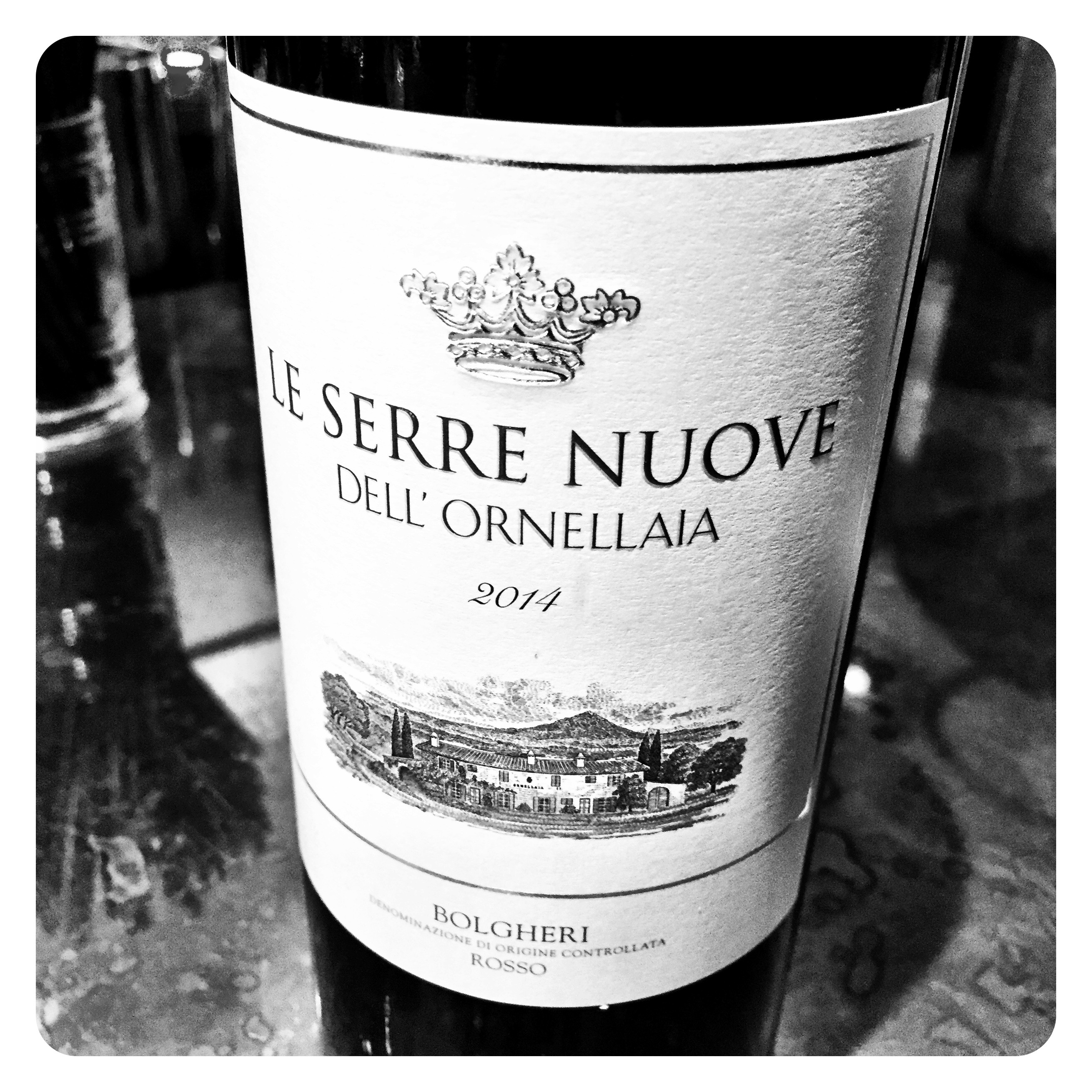 Serre Nuove Dell'ornellaia 2014 Ornellaia 2014 Exceeding All Quality Expectations For The