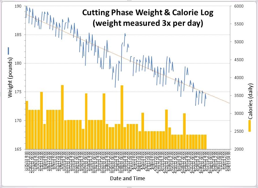daily weight chart - Opucukkiessling